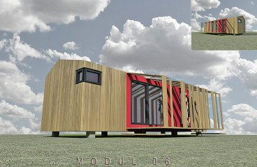 Mobilní dům MODUL 06