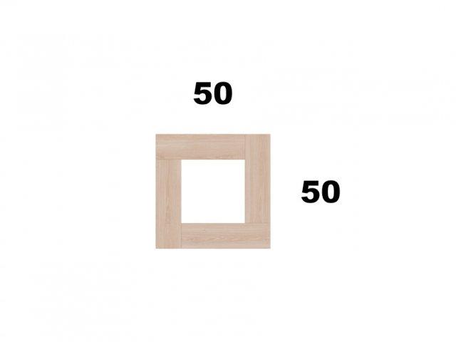 Vyvýšený záhon 50x50 - čtvercový, mini
