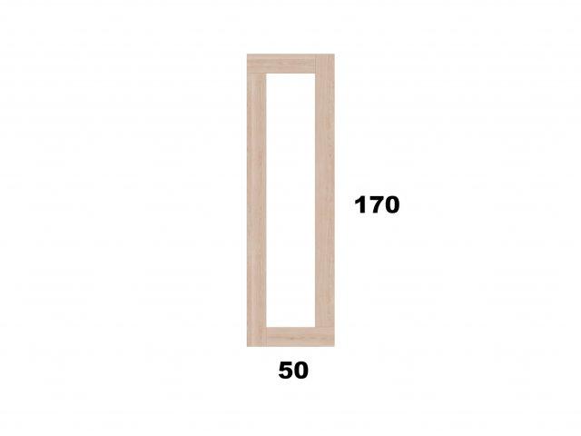 Vyvýšený záhon 50x170 - obdelníkový