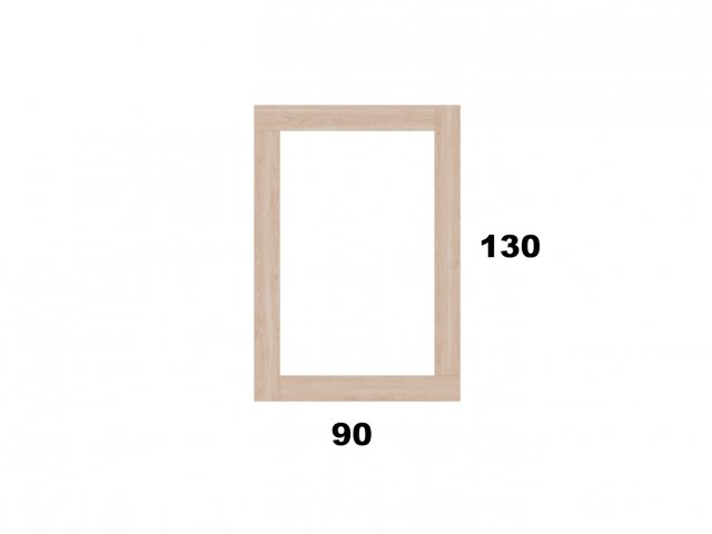 Vyvýšený záhon 90x130 - obdelníkový
