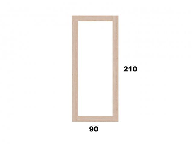 Vyvýšený záhon 90x210 - obdelníkový