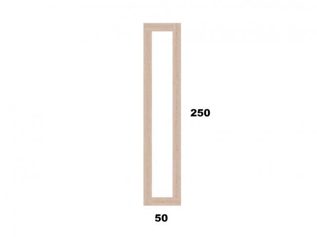 Vyvýšený záhon 50x250 - obdelníkový