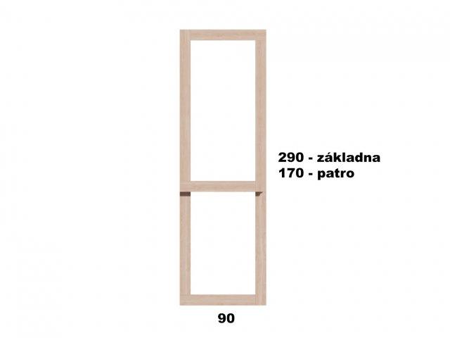 Typ 1 - Vyvýšený záhon 90x290