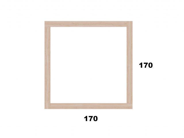 Vyvýšený záhon 170x170 - čtvercový