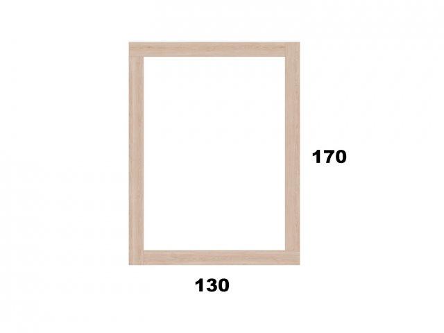 Vyvýšený záhon 130x170 - obdelníkový