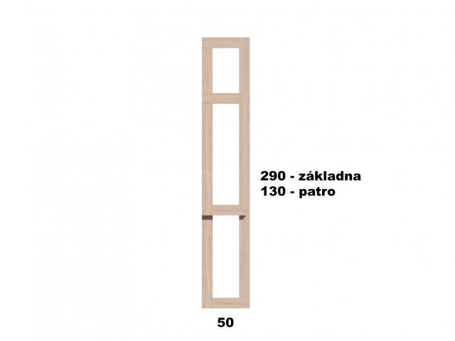 Typ 2 - Vyvýšený záhon 50x290