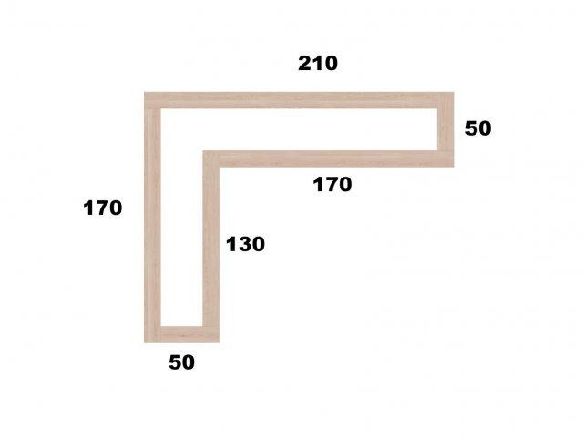 Typ 3 - Vyvýšený záhon L210x170