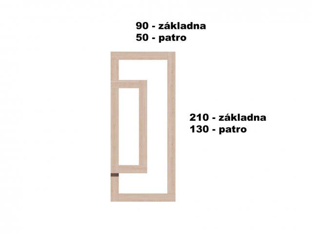 Typ 7 - Vyvýšený záhon 90x210