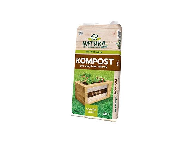Kompost pro vyvýšené záhony