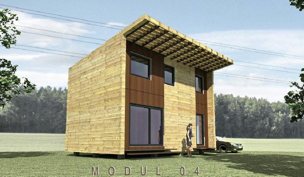 Mobilní dům MODUL 04