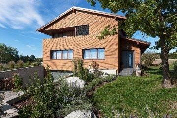 Moderní dřevostavba RD Chválenice