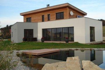 Dřevostavba rodinného domu v Písku