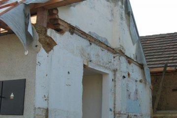 Rekonstrukce domku Česká Bříza