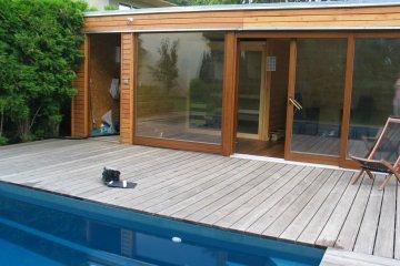 Přístavba sauny - Roztoky